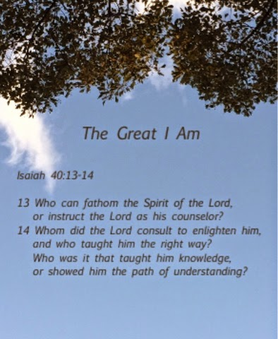 Isaiah 40:13-14