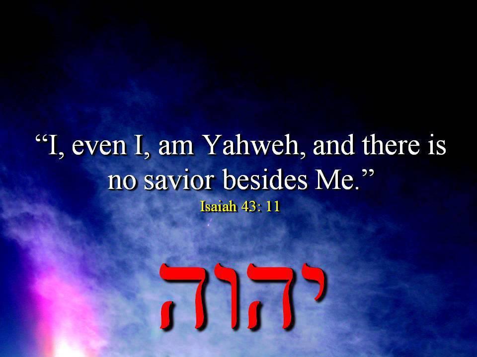 Isaiah 43:11