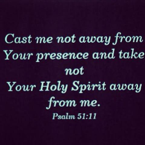 Psalms 51:11