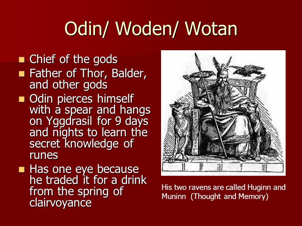 Odin- Woden