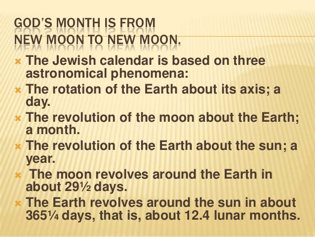 New moons