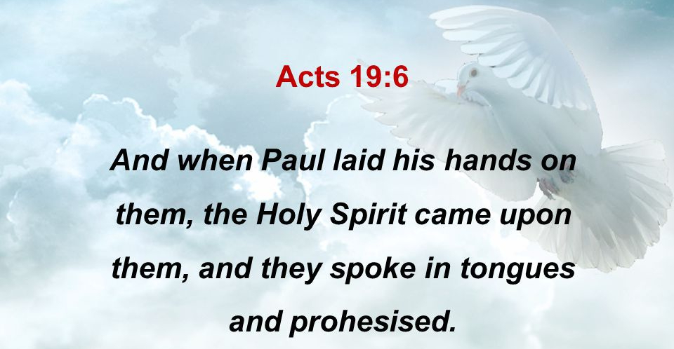 Acts 19:6