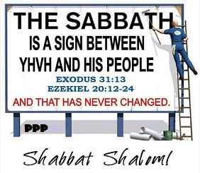 Sabbath sign