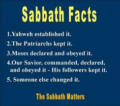 Shabbat facts