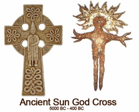 sun-god cross