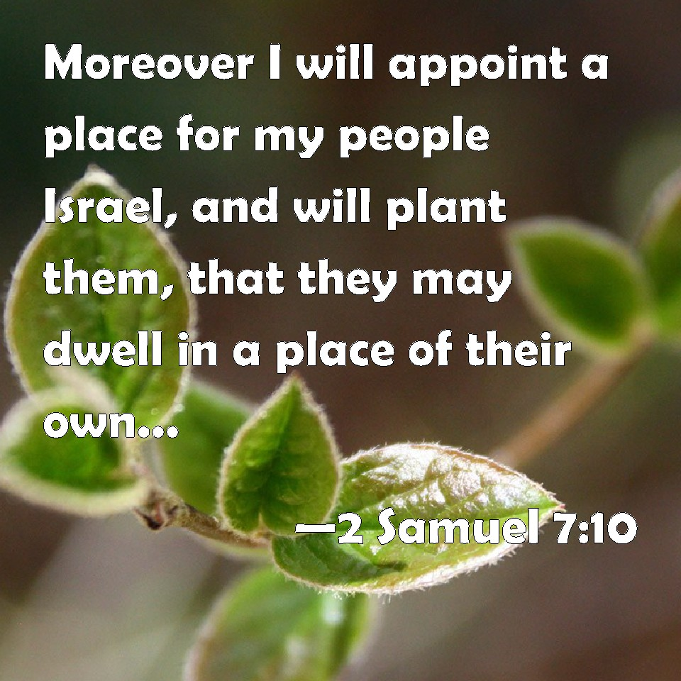 2 Samuel 7:10