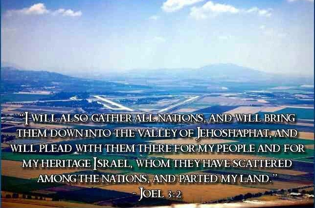 Joel 3:2