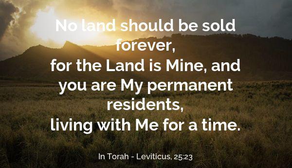 Leviticus 25:23