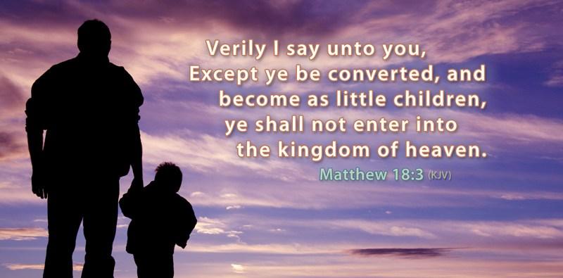 Matthew 18:3