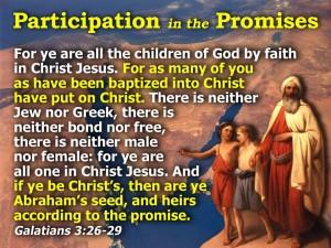 Galatians 3:26-29