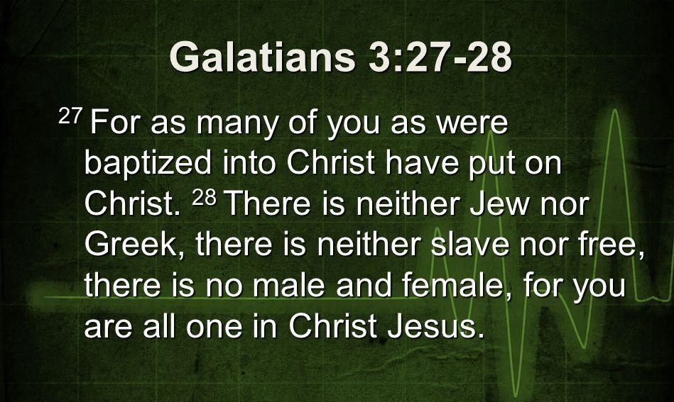 Galatians 3:27-28