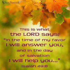 Isaiah 49:8