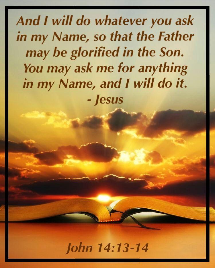 John 14:13,14