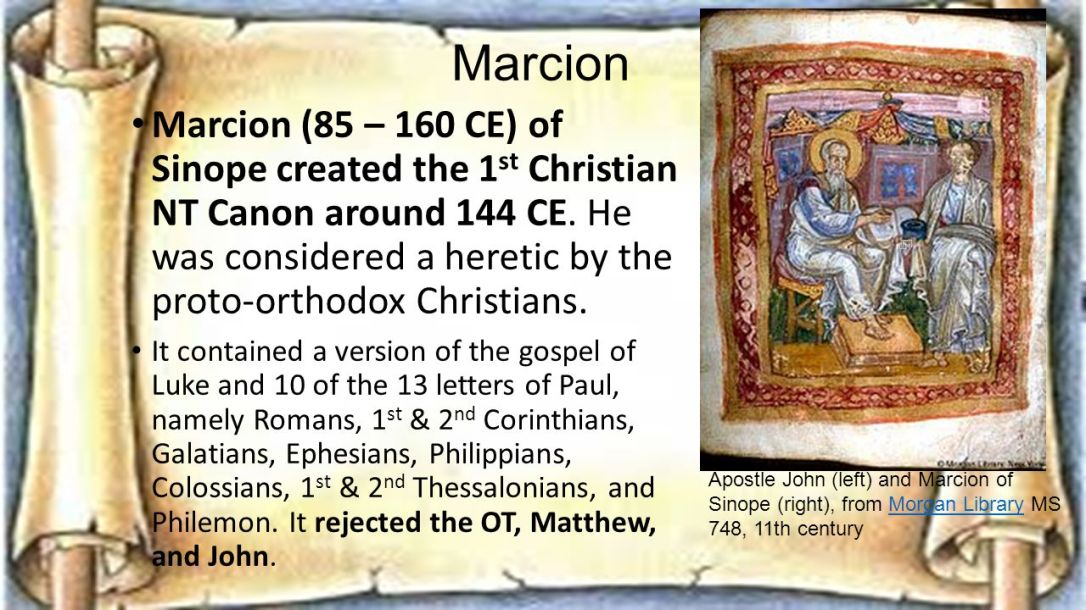 Marcion of Sinope