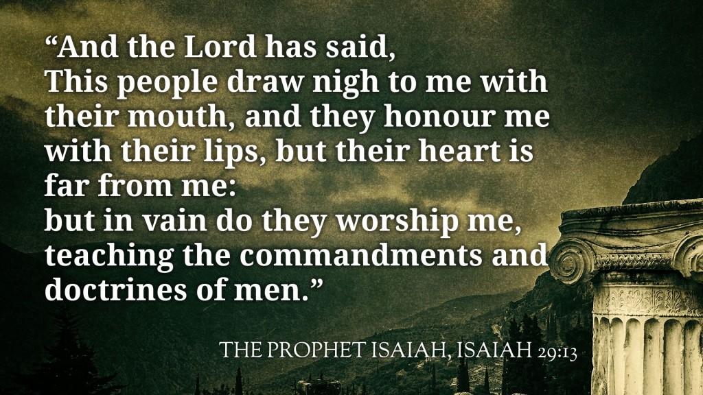 isaiah29-13