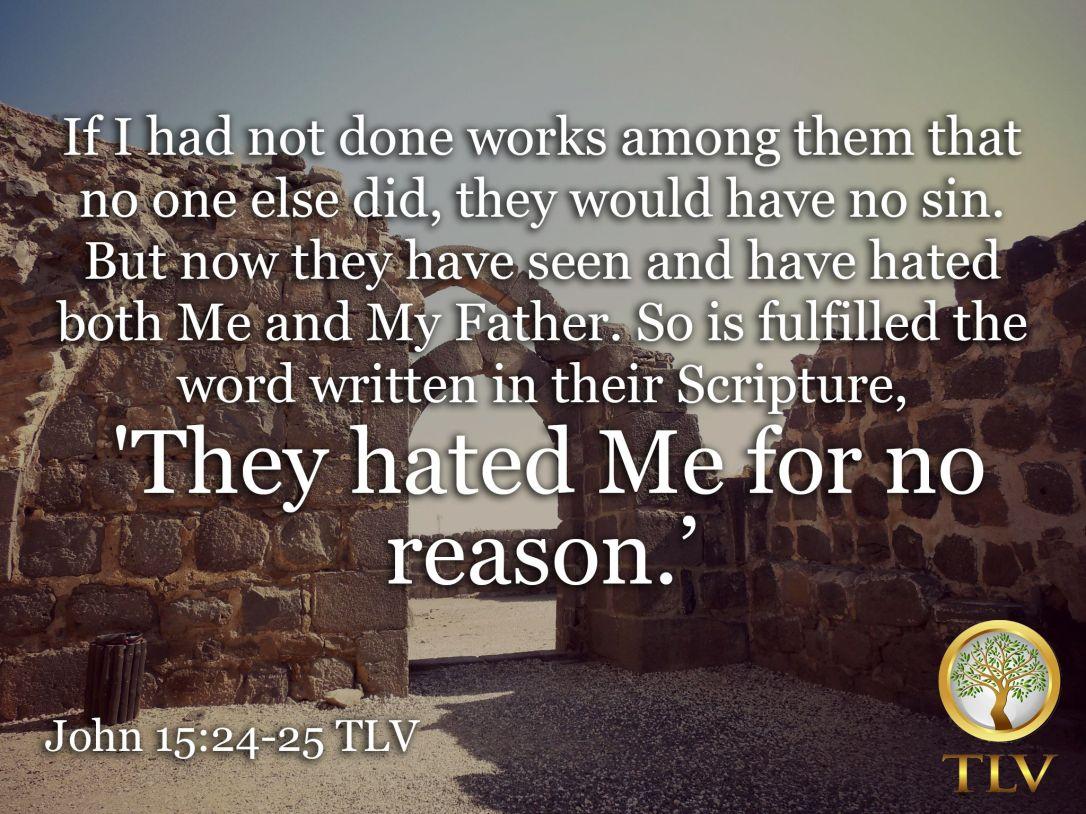 John 15:25
