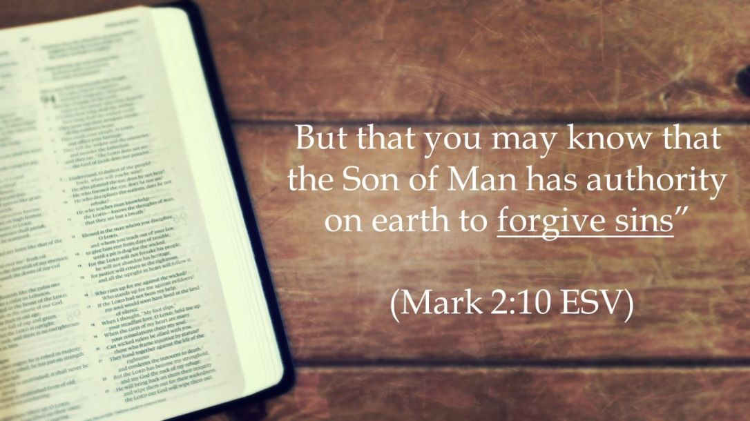 (Mark 2:10 ESV)