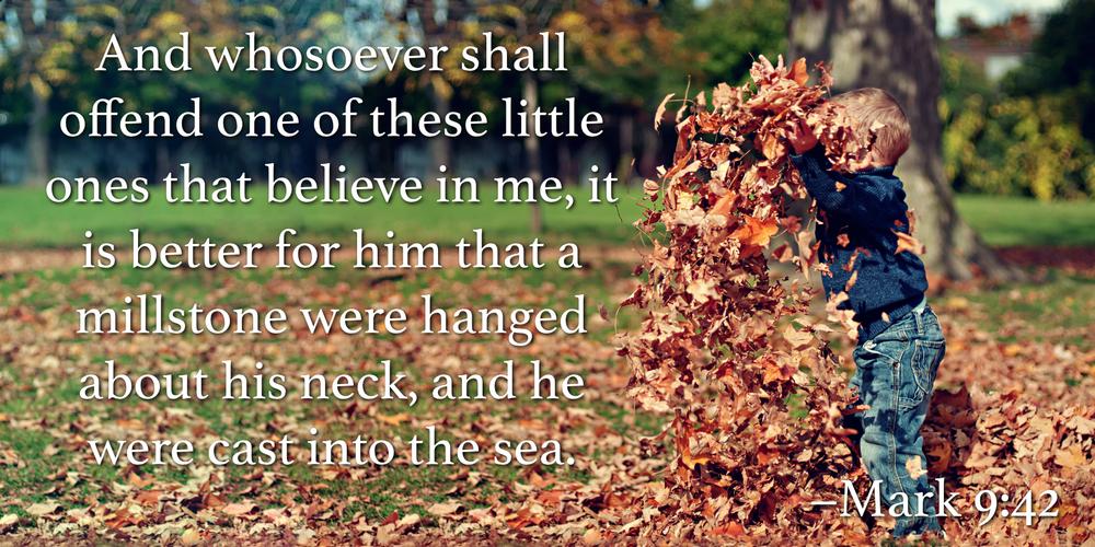 Mark 9:42