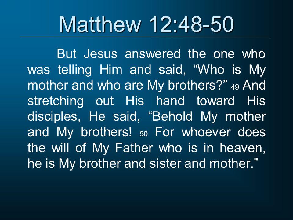 Matthew 12:50