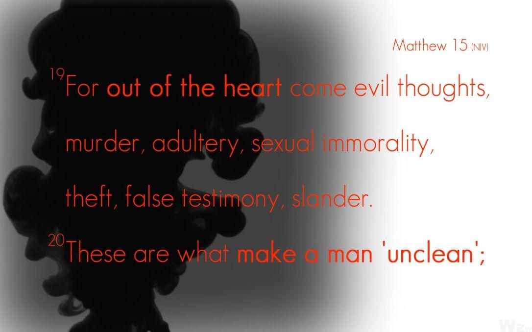 Matthew 15:19