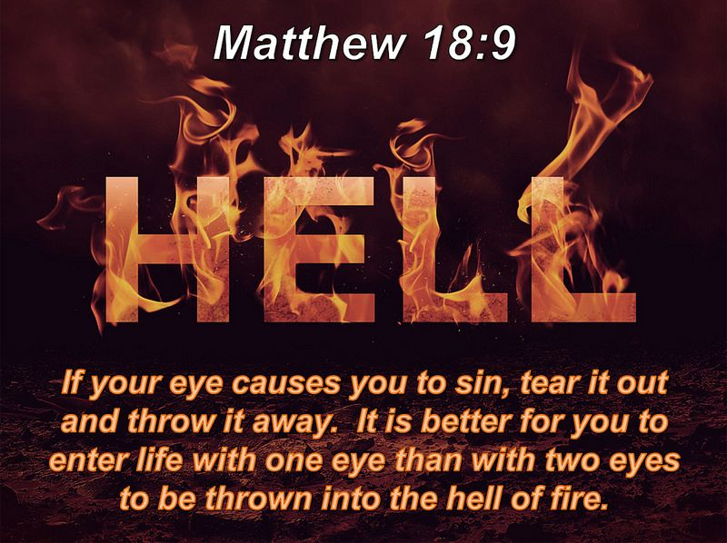 Matthew 18:9