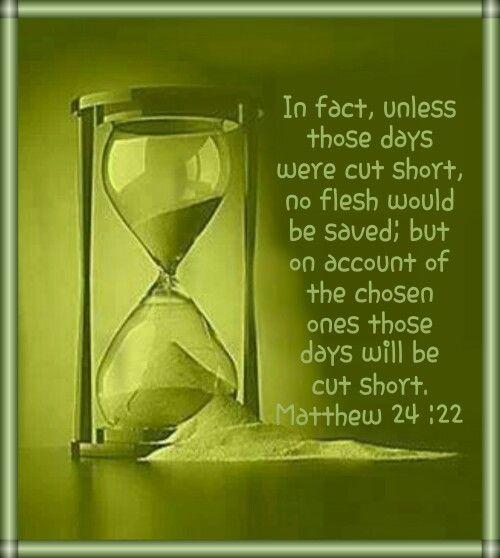 Matthew 24:22