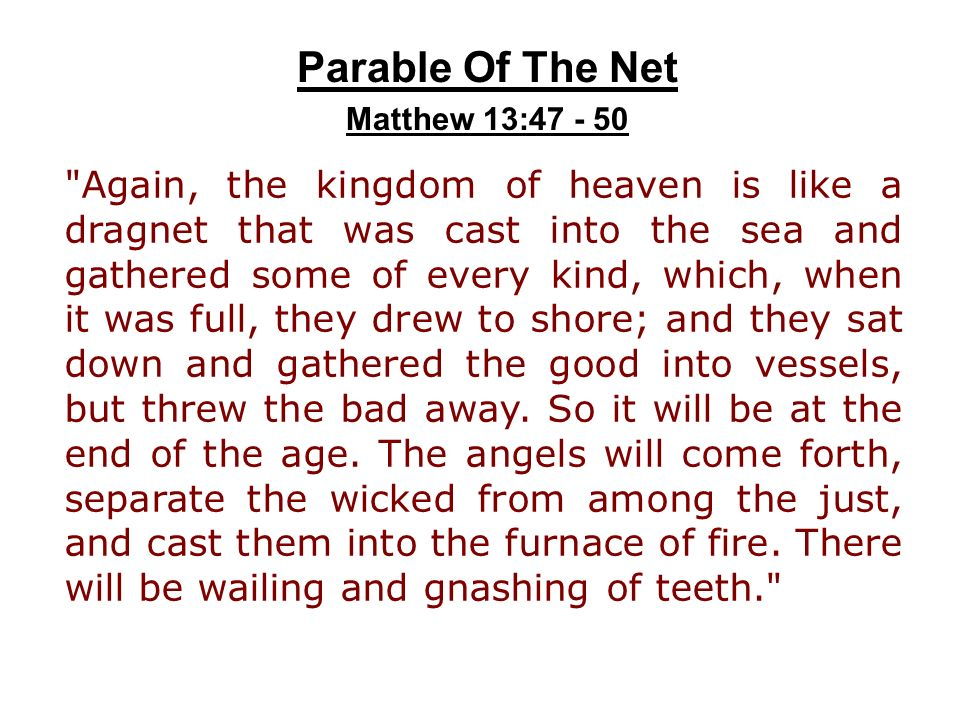 Parable+Of+The+Net+Matthew+13_47+-+50.