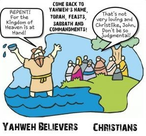 John B vs. Christians