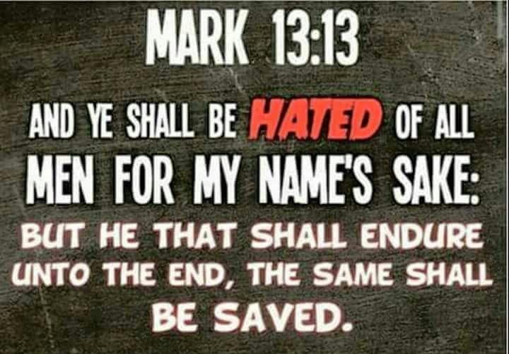 Mark 13:13