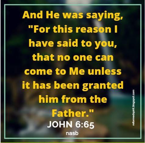 Kuvahaun tulos haulle John 6:65