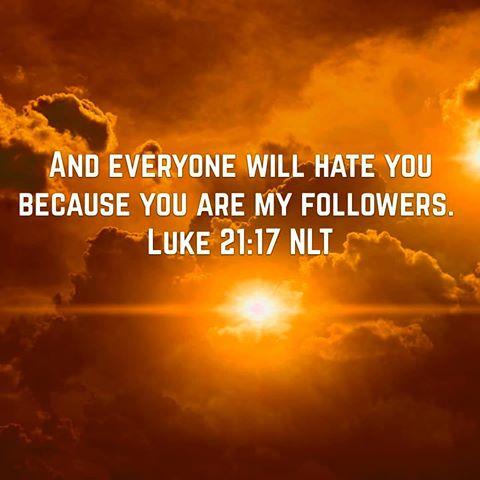 Kuvahaun tulos haulle Luke 21:17