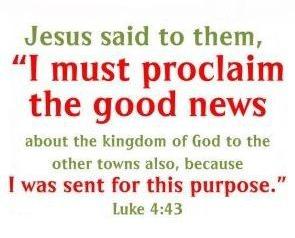 Luke 4:43