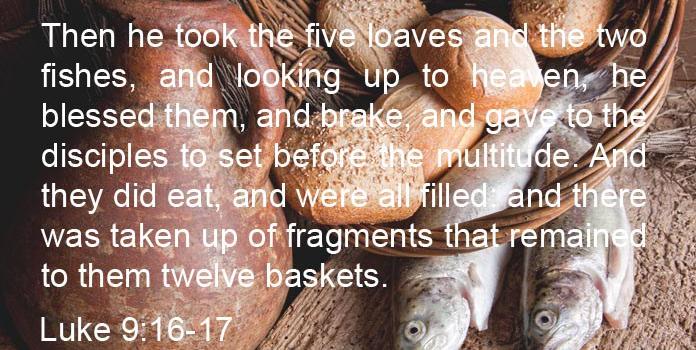 Luke-9-16-17-KJV