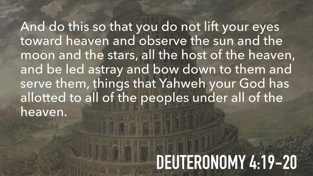 Kuvahaun tulos haulle Deuteronomy 4:19