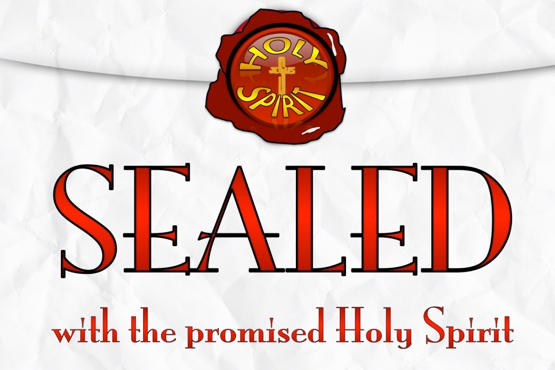 Ephesians 1-13 Sealed With The Holy Spirit red