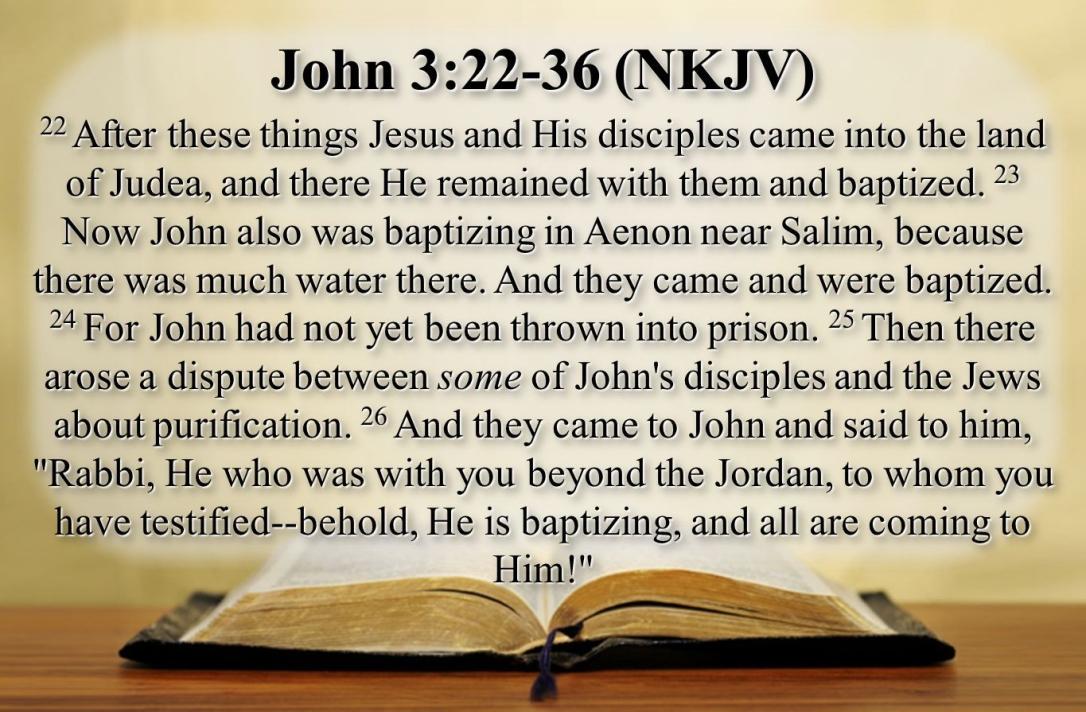John 3:22