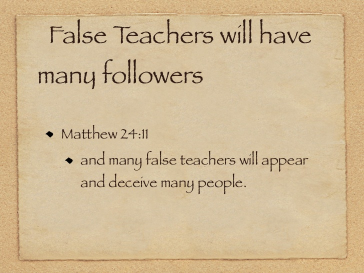 Mt 24:11