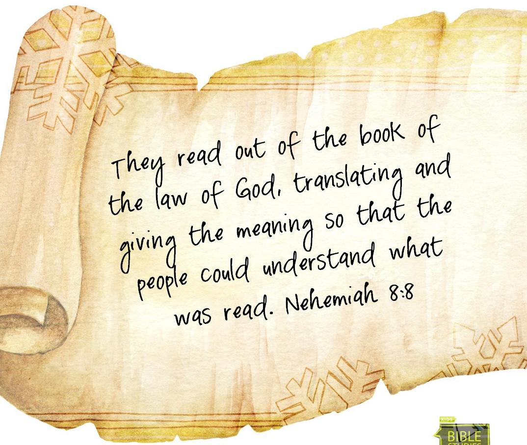 Nehemia 8:8