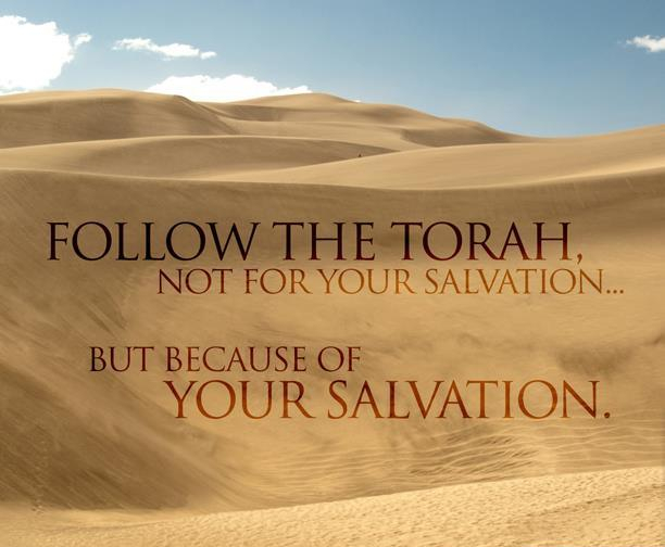 Salvation- Torah